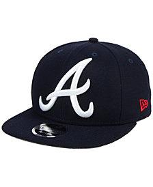 New Era Atlanta Braves Logo Grand 9FIFTY Snapback Cap