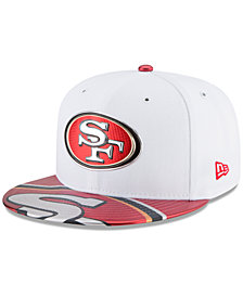 New Era Boys' San Francisco 49ers 2017 Draft 59FIFTY Cap