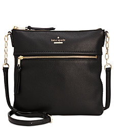 kate spade new york Jackson Street Melisse Small Pebble Leather Crossbody