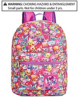 Shopkins Backpack, Little Girls (2-6X) & Big Girls (7-16 ...