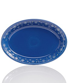 """Snowflake 13"""" Serving Platter, Created for Macy's"""
