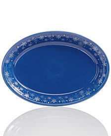 Fiesta Snowflake Serving Platter, Created for Macy's