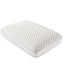 CLOSEOUT! Dream Science Adjustable Firmness Standard Memory Foam Pillow By Martha Stewart Collection, Created for Macy's