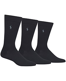 Men's 3 Pack Super-Soft Dress Socks