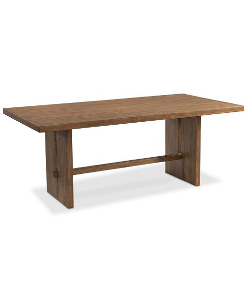 Macys Dining Table: Furniture Athena Dining Trestle Table & Reviews