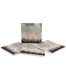 Thirstystone Pixel Shower 4-Pc. Coaster Set