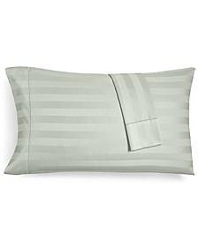 "1.5"" Stripe King Pillowcase Set, 550 Thread Count 100% Supima Cotton, Created for Macy's"