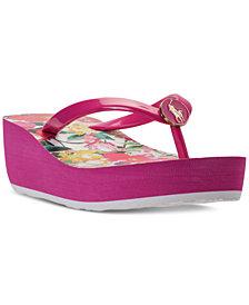 Polo Ralph Lauren Big Girls ' Borolla II Flip-Flop Thong Sandals from Finish Line