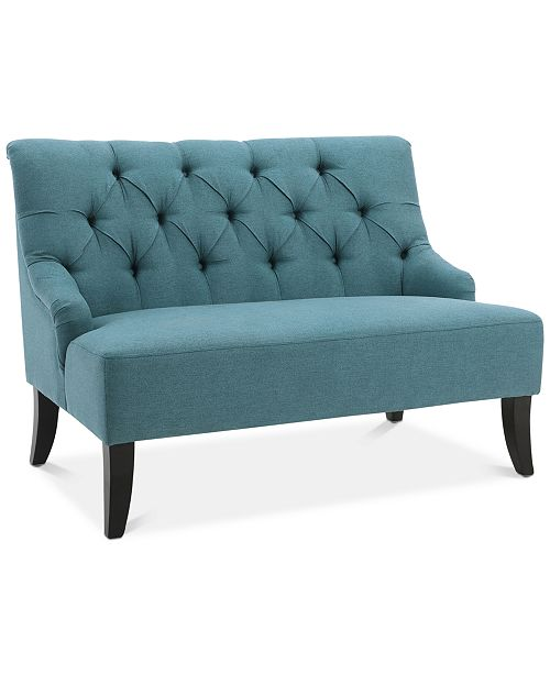 "Noble House Dennon 44"" Settee, Quick Ship"
