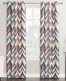 "Sun Zero Cade Thermal Lined Curtain 40"" x 84"" Panel"