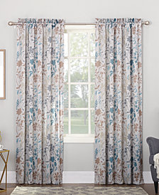 CLOSEOUT! Sun Zero Ena Floral Printed Room Darkening Collection
