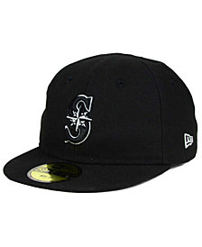 New Era Seattle Mariners My First Black/White 59FIFTY Fitted Cap
