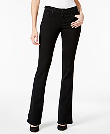 Curvy-Fit Bootcut Jeans in Regular, Short and Long Lengths, Created for Macy's