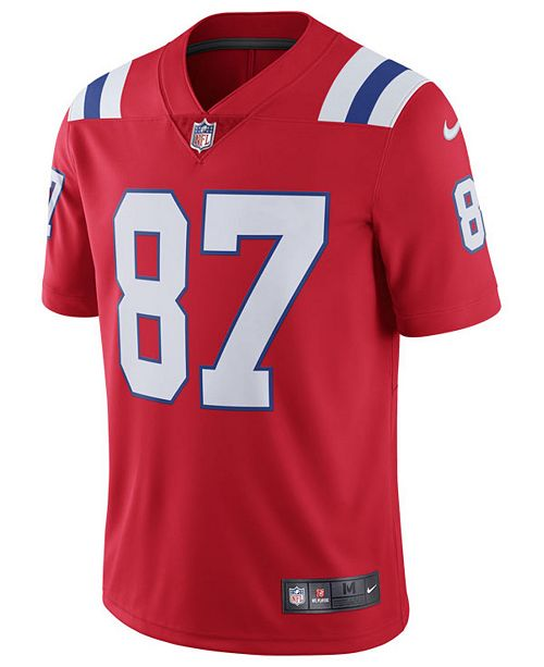 online retailer 16f01 6d460 Men's Rob Gronkowski New England Patriots Vapor Untouchable Limited Jersey