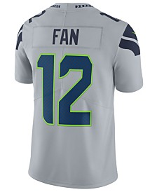 Nike Men s Fan  12 Seattle Seahawks Vapor Untouchable Limited Jersey 137993584c3e