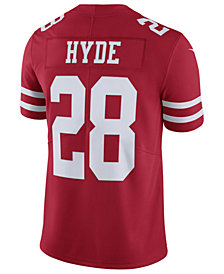 Nike Men's Carlos Hyde San Francisco 49ers Vapor Untouchable Limited Jersey