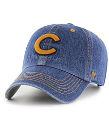 '47 Brand Chicago Cubs All Denim CLEAN UP Cap