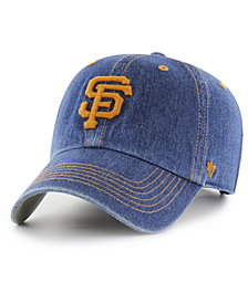'47 Brand San Francisco Giants All Denim CLEAN UP Cap