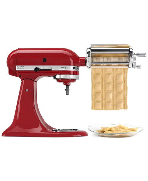 Ravioli Maker Stand Mixer Attachment KRAV