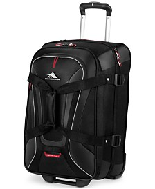"High Sierra AT7 22"" Carry-on Wheeled Upright Duffel"