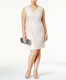 Ivory/Cream Plus Size Dresses - Macy\'s