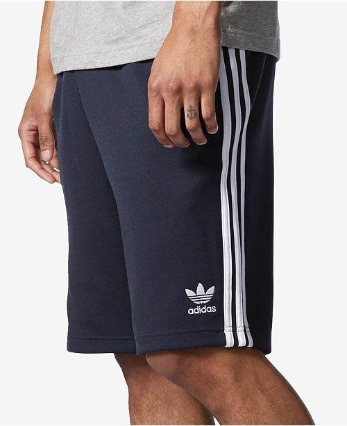 57c30ed9d5374a adidas Men s Superstar Sweat Shorts   Reviews - Shorts - Men - Macy s