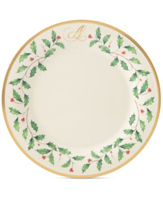 Holiday Personalized Dinner Plate