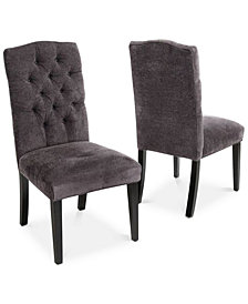 gray and white dining chairs grey wall jannis dining chairs set of 2 quick ship benches macys