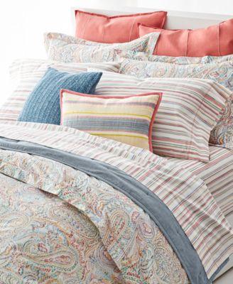 lauren ralph lauren cayden 3-pc. paisley full/queen comforter set
