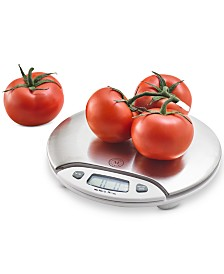 Martha Stewart Collection Stainless Steel Digital Scale, Created for Macy's