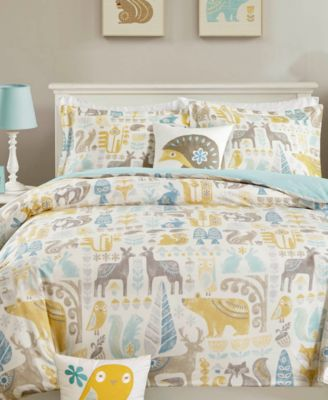 Woodland 4-Pc. Quilted Full/Queen Coverlet Set