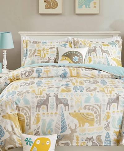 INK+IVY Kids Woodland Comforter Sets