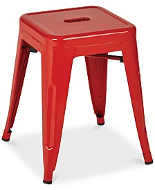 "Gordyn 18"" Backless Bar Stool (Set of 2), Quick Ship"
