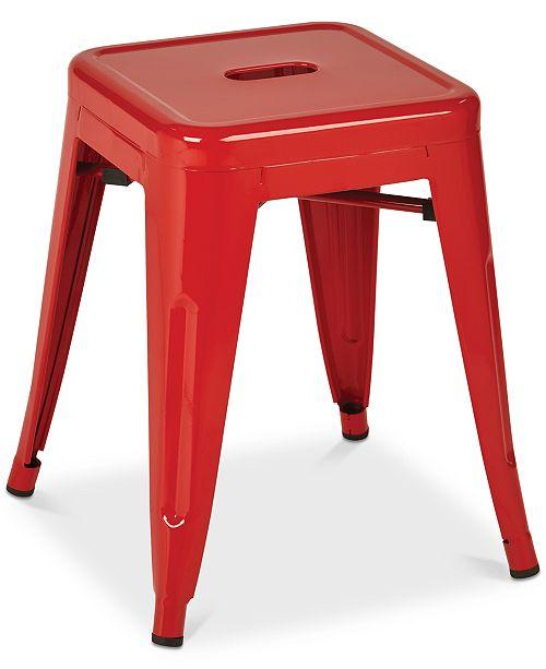 "Furniture Gordyn 18"" Backless Bar Stool (Set of 2), Quick Ship"