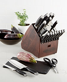 Calphalon Contemporary SharpIN Self Sharpening 20-Piece Cutlery Set
