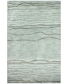 Kenneth Mink Waves 8 6 X 11 Area Rug Created
