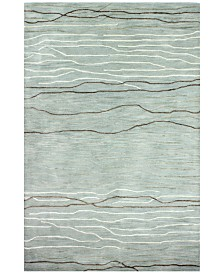 "Kenneth Mink Waves 8'6"" x 11'6"" Area Rug"