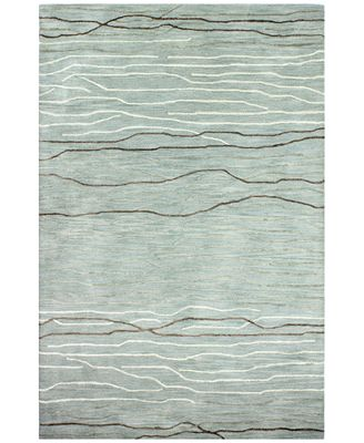 Kenneth Mink Waves 8 6 X 11 6 Area Rug Created For Macy S Rugs