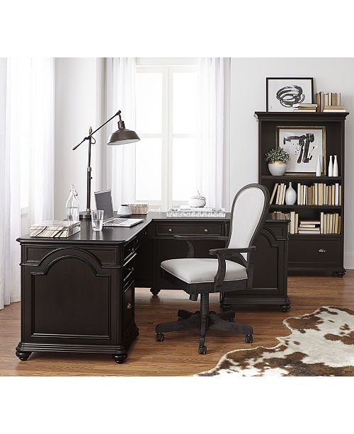 Home Office L Shaped Desk