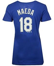 Women's Kenta Maeda Los Angeles Dodgers Crew Player T-Shirt