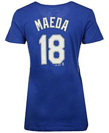 Majestic Women's Kenta Maeda Los Angeles Dodgers Crew Player T-Shirt