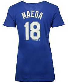 Majestic Women's Kenta Maeda Los Angeles Dodgers Crew Player T-Shirt