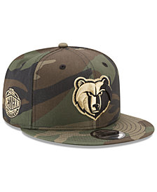 New Era Memphis Grizzlies Metallic Woodland 9FIFTY Snapback Cap