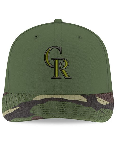 quality design afb57 18d6c ... where to buy new era colorado rockies 2017 memorial day low profile  59fifty cap sports fan