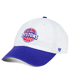 '47 Brand Detroit Pistons 2-Tone CLEAN UP Cap
