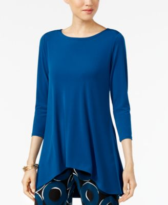 Image of Alfani Jersey High-Low Tunic, Created for Macy's