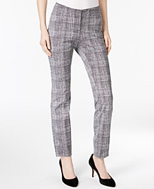 Petite Printed Skinny Pants, Created for Macy's