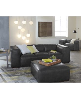 CLOSEOUT! Emanci Leather Sofa Collection. 2 Reviews. Main Image; Main Image  ...