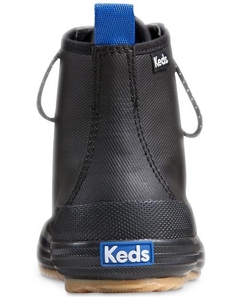 b78b5e055810 Keds Women s Scout Splash Rain Boots   Reviews - Boots - Shoes - Macy s
