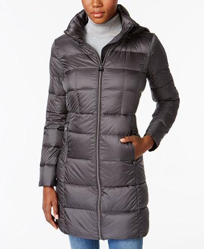Michael Michael Kors Packable Down Puffer Coat Women